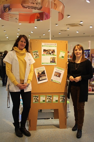 Der DM Markt Münster unterstützt die örtlichen Büchereien.