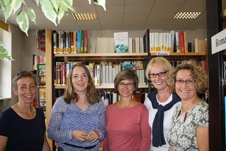 Das Team der Büchereien freut sich über den regen Zuspruch durch die Münsterer und Altheimer Leserinnen und Leser.